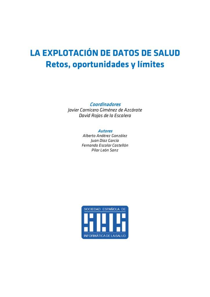 thumbnail of LA EXPLOTACIÓN DE DATOS DE SALUD