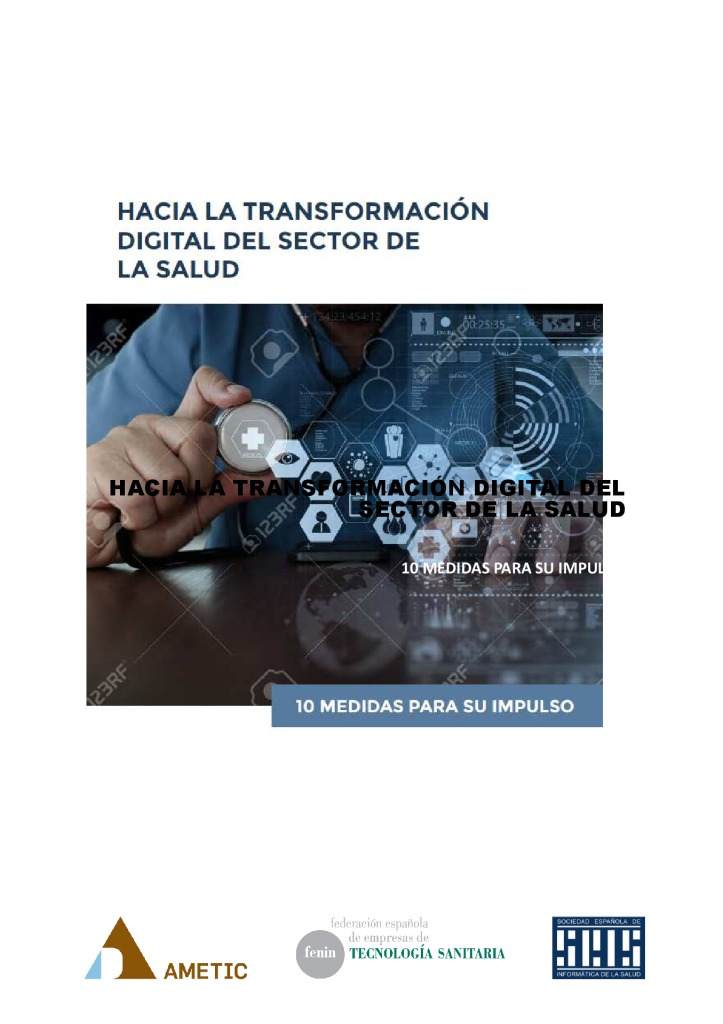 thumbnail of LA TRANSFORMACION DIGITAL DEL SECTOR SALUD EN ESPAÑA