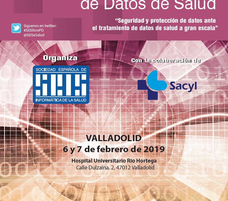 XVI Foro de Seguridad y Protección de Datos de Salud